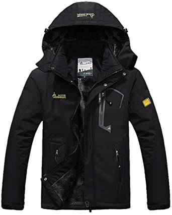 MAGCOMSEN Winter Jacket Men Warm Waterproof Jacket Snowboarding Ski Jacket  Military Tactical Jacket Coat Parka with d6a70ef41