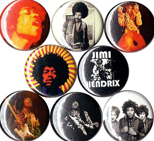 Set of 8 Jimi Hendrix 1