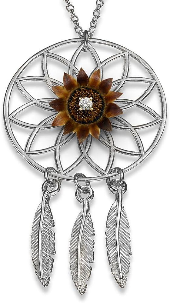 Black beach stone necklace geometric necklace dream catcher necklace modern necklace modern jewelry geometric jewelry black necklace