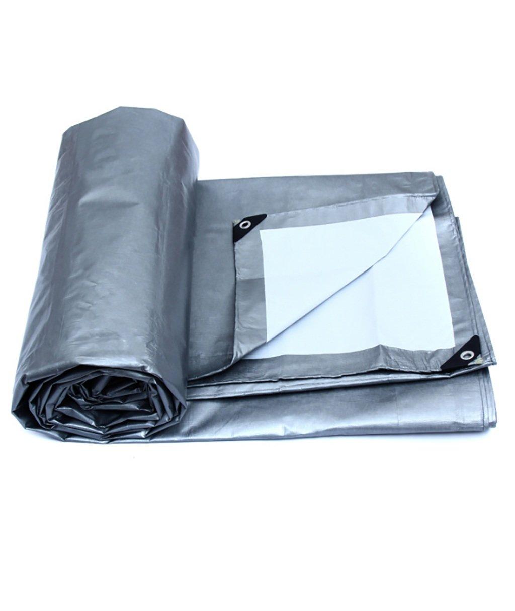Hyxpb Tela impermeabilizzante Solare per telone di Protezione Solare per telone di plastica per Auto (Dimensioni   8m6m)