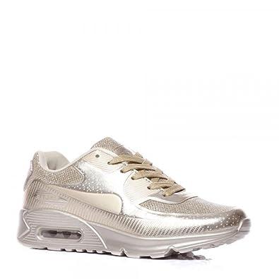 Schuhzoo - Damen Sportschuhe Low Sneaker