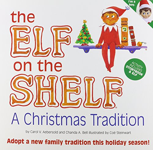 The Elf on the Shelf, a Christmas Tradition (Mother's A Christmas Hair Story)