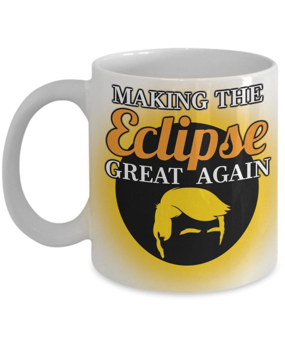 Total Solar Eclipse Coffee Mug Trump Great Again