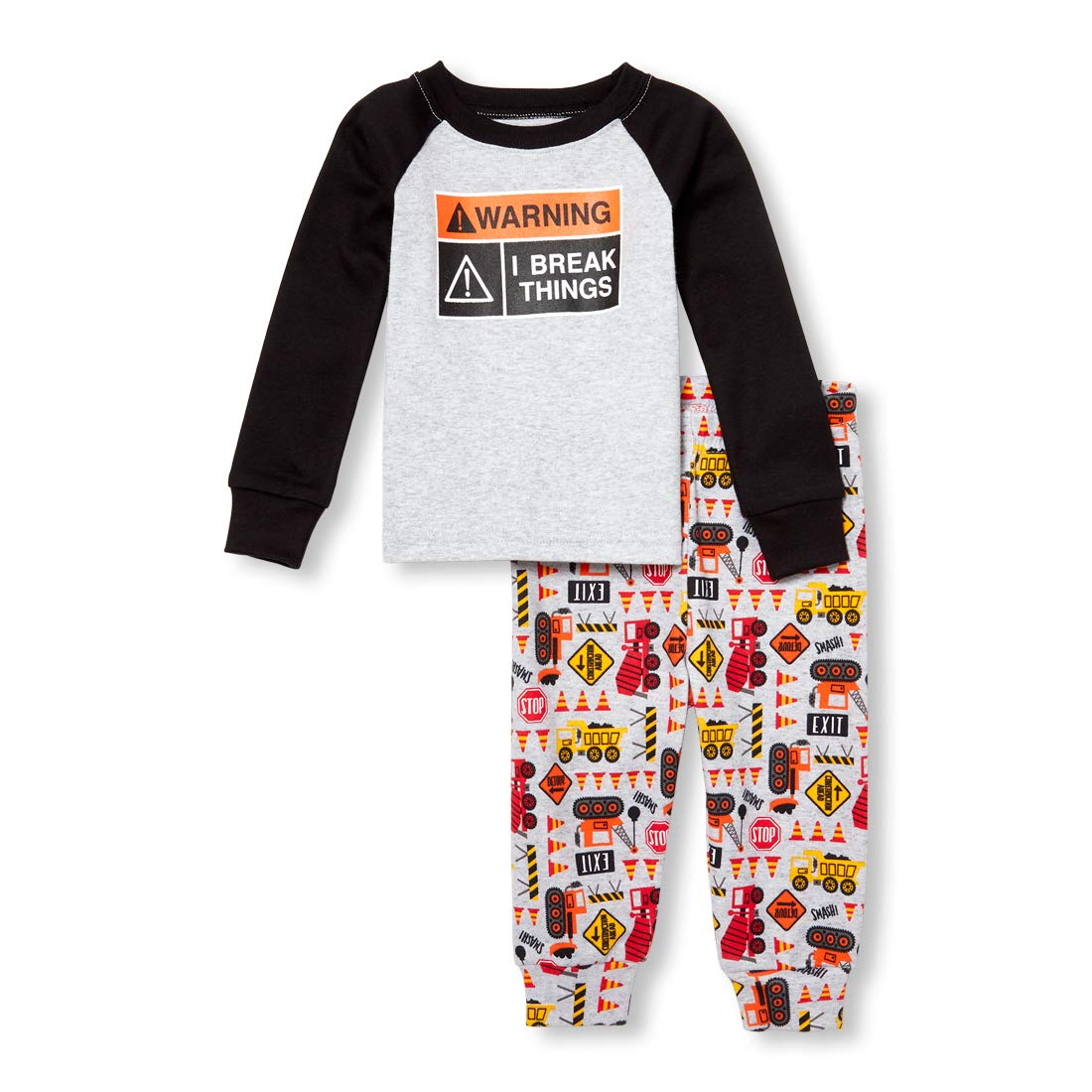59f62b3ad The Children s Place Baby Boys 2 Piece Long Sleeve Pajama Set ...