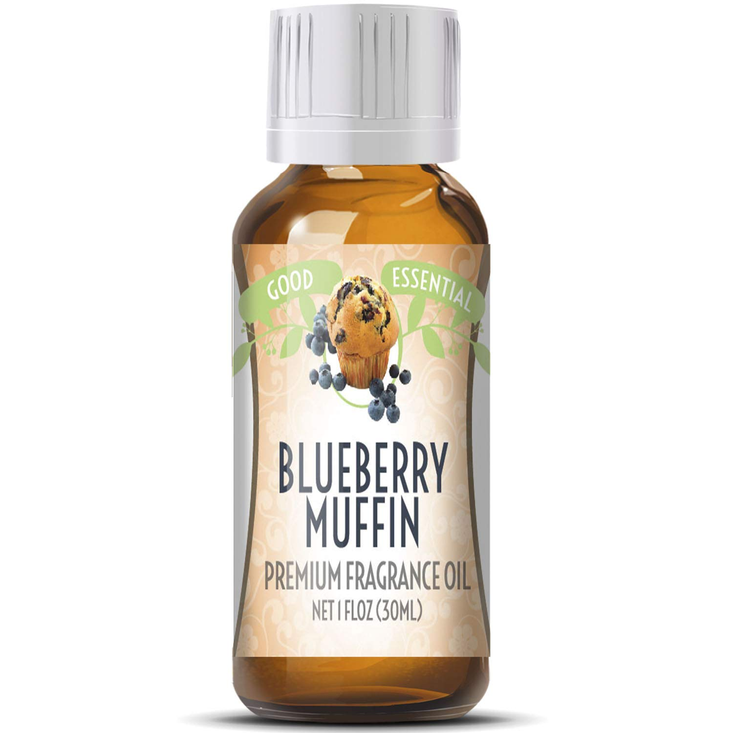 Blueberry Muffin Scented Oil by Good Essential (Huge 1oz Bottle - Premium Grade Fragrance Oil) - Perfect for Aromatherapy, Soaps, Candles, Slime, Lotions, and More!