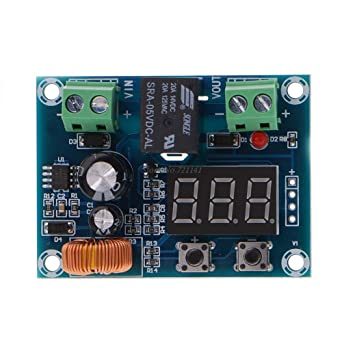 12V-36V Battery Over Discharge Low Voltage Disconnect Protector Module DC Output