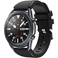 accessoryME Replacement Band Compatible with Samsung Galaxy Watch 3 45mm, 22mm Silicone Quick Release Band Sport Strap…