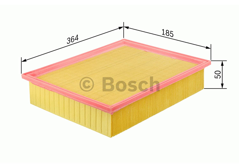 BOSCH 1 457 433 714 CARTOUCHE FILTRE A AIR BOSCH Robert Bosch GmbH Automotive Aftermarket 1457433714