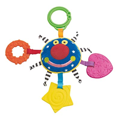 Manhattan Toy Whoozit Orbit Teether Soft Activity and Travel Toy: Toys & Games