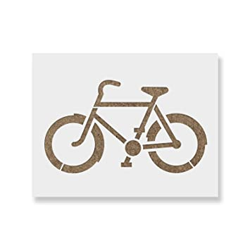 amazon com bike stencil template reusable stencil with multiple