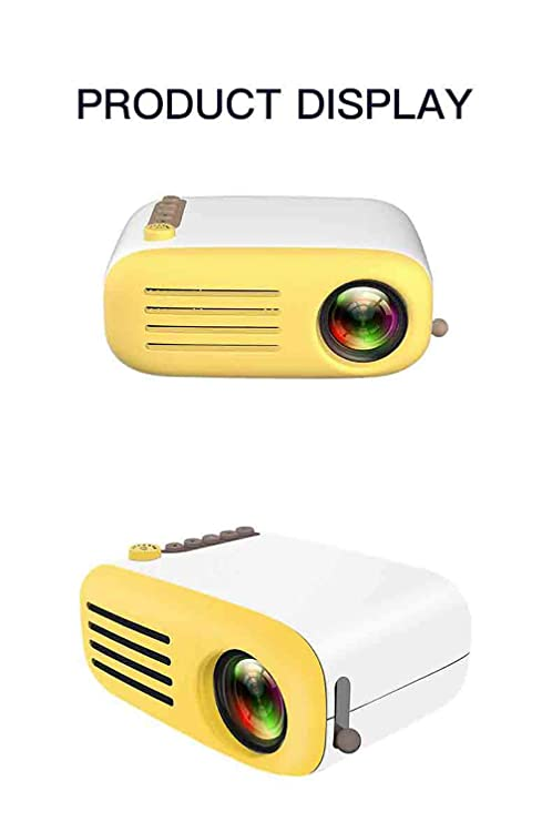 LHJCN Proyector Mini Portátil Proyector de Cine en Casa Altavoces ...