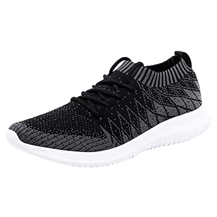 1dbff17eafb4a Amazon.com: JJLIKER Mens Sneakers Ultra Lightweight Breathable Mesh ...