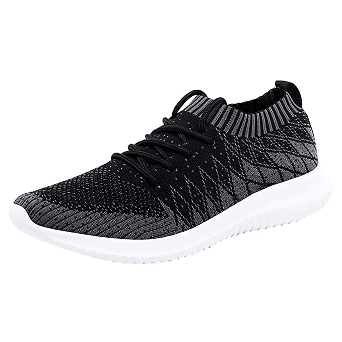 99a8e269dce Men's Stylish Knitted Sneakers - Athletic Ultra Light Breathable ...