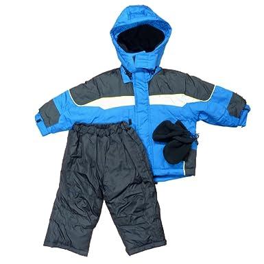 d9c365fb9c38 Amazon.com  Below Zero Infant Boys Blue Snow Suit Ski Pants   Coat ...