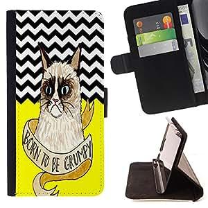 Jordan Colourful Shop - FOR HTC DESIRE 816 - Face the life with smile - Leather Case Absorciš®n cubierta de la caja de alto impacto