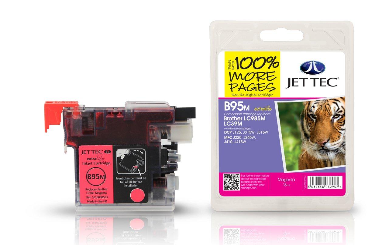 Jet Tec B95M cartucho de tinta Magenta 1 pieza(s) - Cartucho ...