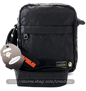 Aape by A Bathing Ape Bape Waterproof Beach Sports PU Duffle Carry Shoulder Bag