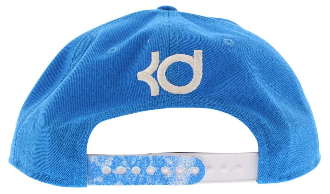 9cb3495d942 Amazon.com  Nike Mens KD Rain True Snapback Hat Cap Blue White  Sports    Outdoors