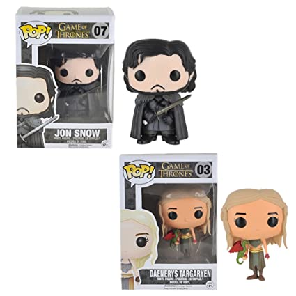 Amazon.com: Game Of Thrones Pop Vinilo Figura Bundle Set ...