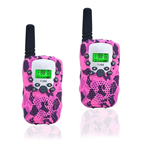 Amazon Toys 3 12 Year Old Girls Happy Gift Walkie Talkies Children BoysBirthday Presents Kids1PairPink GPS Navigation