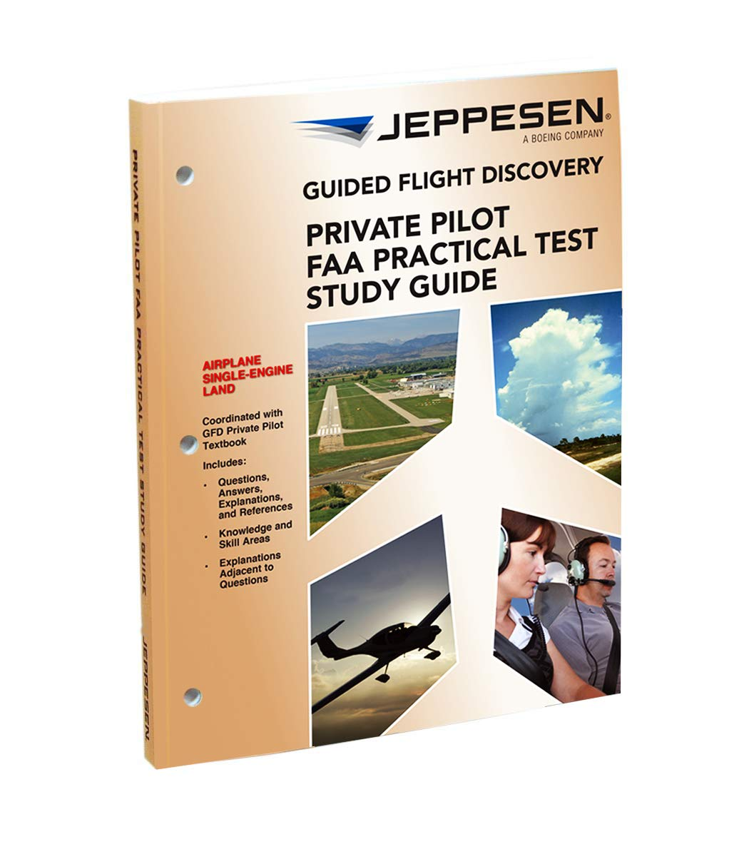 Amazon.com: Jeppesen Private Pilot Practical Test Guide - 10001390:  Everything Else