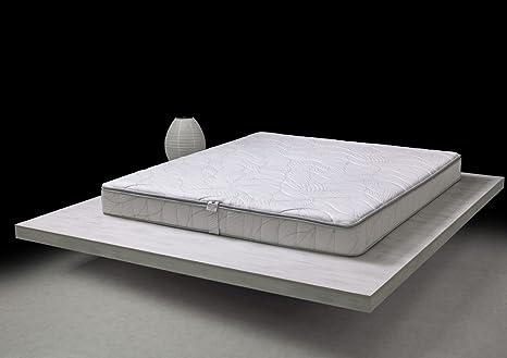 Pure Latex Wave Memoria de Forma colchón 140 x 200 cm en 100% látex –