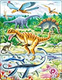 Larsen FH16 Dinosaurs Puzzle for Kids (35 Pieces)