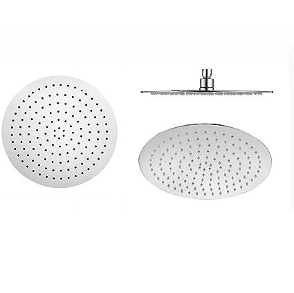 Alcachofa de ducha acero inoxidable 30 cm redonda de ...