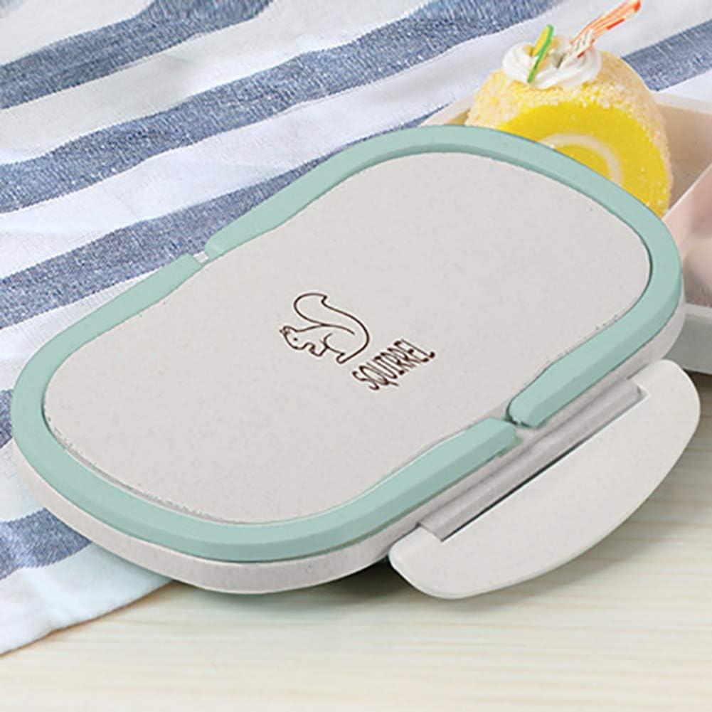 bo/îte /à lunch multi-grille allant au micro-ondes Hankyky Bo/îte /à lunch de style japonais avec 2 compartiments bo/îte /à nourriture herm/étique bo/îte /à bento /écologique sans BPA
