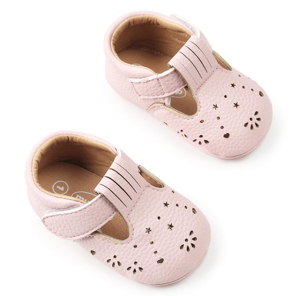 Amazon.com: moonker zapatos de bebé bebé niños niñas verano ...