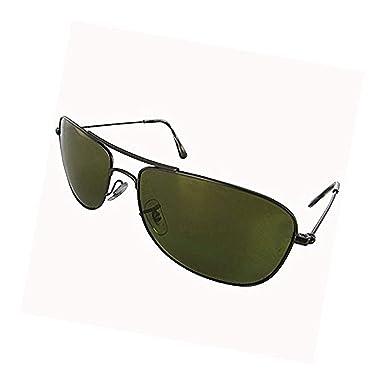 a3c2a79739 Amazon.com  RB RB3543 Matte Gunmetal Green Mirror Gold Polarized ...