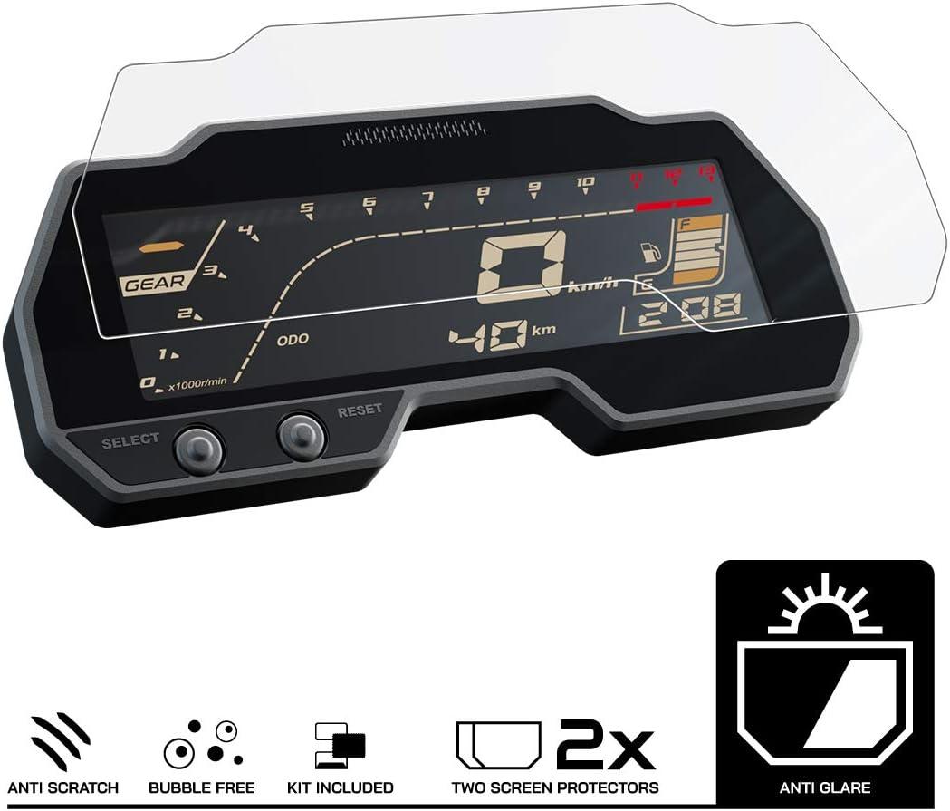 Speedo Angels Displayschutzfolie Tachoschutzfolie Für Yamaha Mt 125 2020 2 X Anti Glare Auto