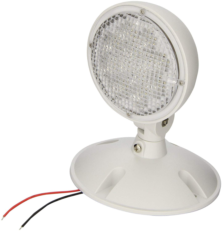 Pkg of 3 Remote LED Emergency Lamp Head 1 Head Weatherproof