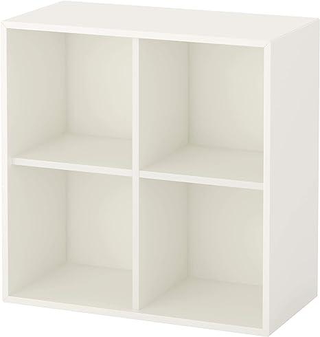IKEA EKET - Armario con cuatro compartimentos, color blanco