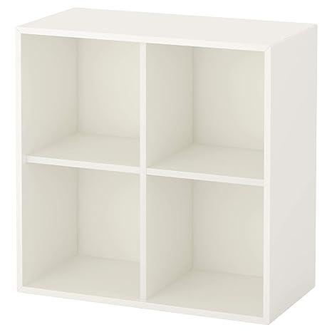 codice coupon per tutta la famiglia prezzi economici IKEA EKET - Armadietto con 4 scomparti, bianco: Amazon.it ...