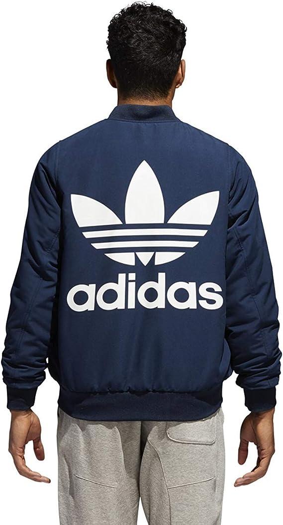 Adidas Men's Originals Reversible Bomber Jacket DN9087 (S