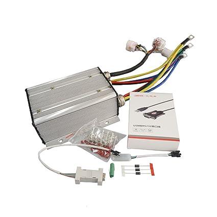 Amazon com : QSMOTOR Motor Controller KLS7230S 24V-72V 3000W