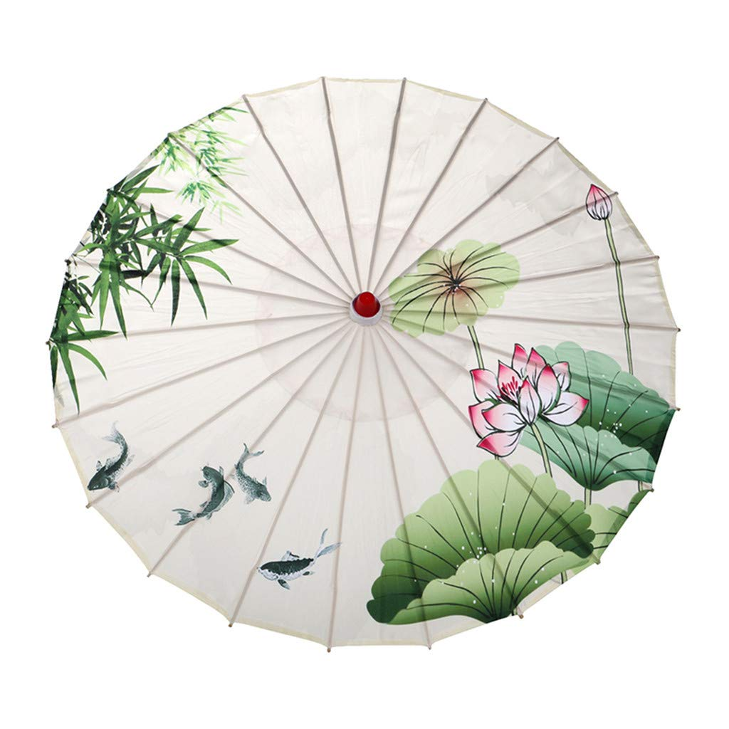 Cosplay Decoration Costumes Photography Transser Handmade Chinese Oiled Paper Umbrella Oriental Parasol Umbrella for Wedding Parties