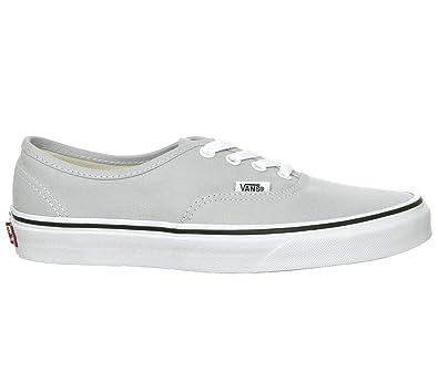 Amazon.com | Vans Authentic Gray Dawn/True White (6 M US Women / 4.5 ...
