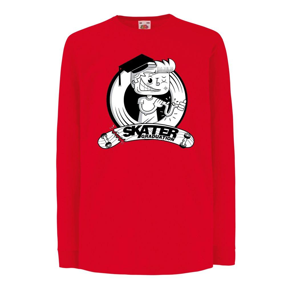 Skateboard Regali per Lo Skater Skaters lepni.me T-Shirt Bambini//Ragazze Diploma di Skate Academy Professionale Longboard