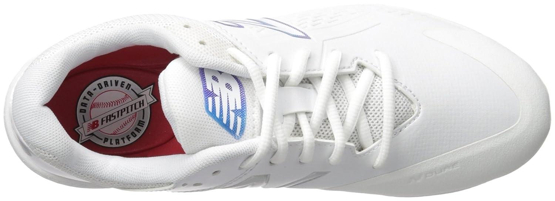 New Balance Women's FUSEV1 Metal Fast Pitch Softball Baseball Shoe B01N97B2QM 7.5 B(M) US|White