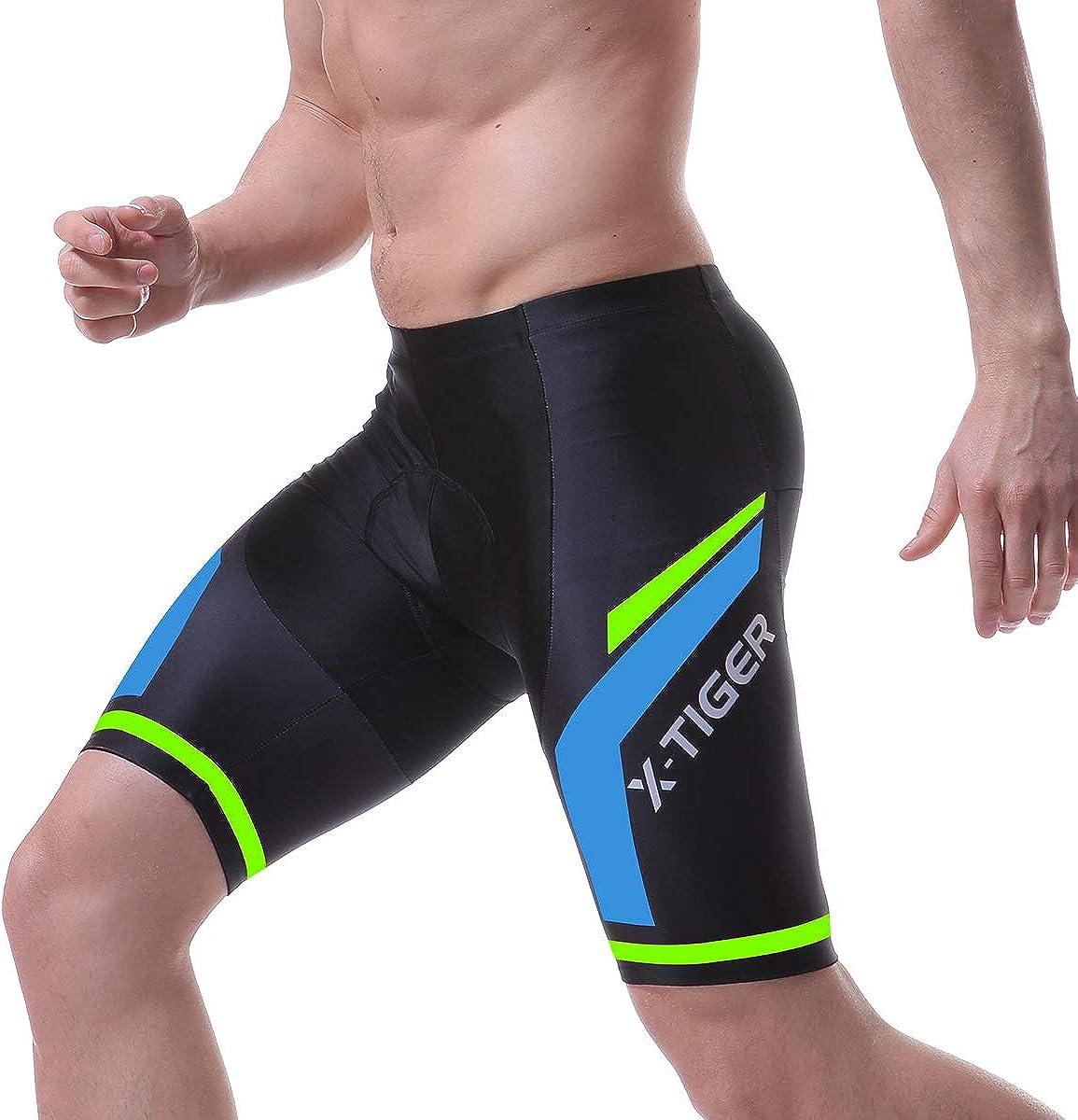 Men Women Cycling Underwear 5D Gel Padded Road Bike Riding Shorts Compression