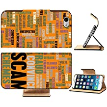 Luxlady Premium Apple iPhone 6 iPhone 6S Flip Pu Leather Wallet Case IMAGE 36532418 Scam or Scams Online on the...