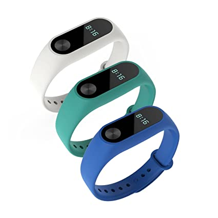 Awinner - Pulsera de repuesto para Xiaomi Mi Band 2, impermeable (reloj no incluido