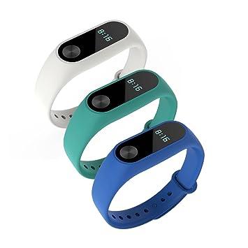 Awinner - Pulsera de repuesto para Xiaomi Mi Band 2, impermeable (reloj no incluido): Amazon.es: Electrónica