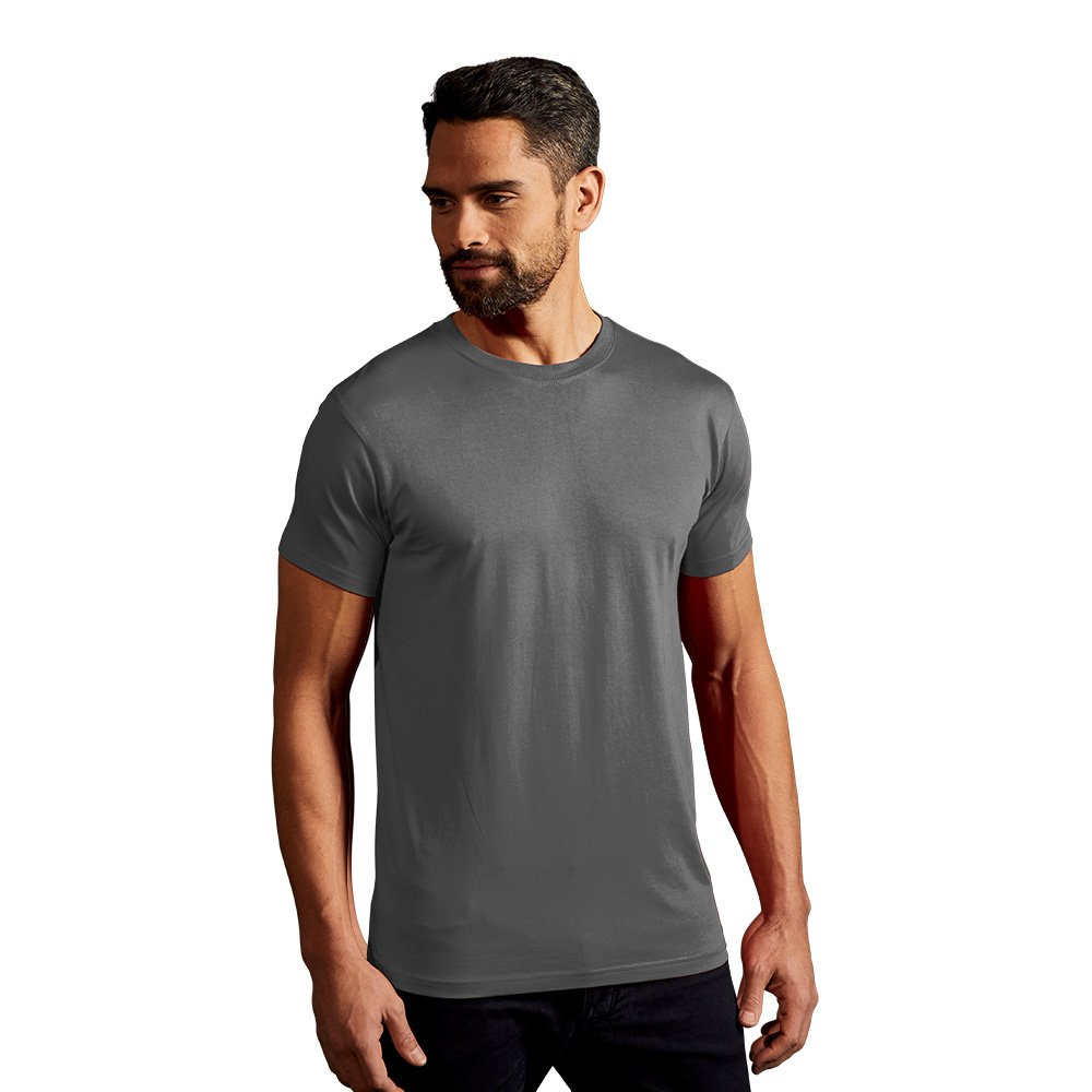 Promodoro –  3099 –  9d-2 X L camiseta para hombre'Premium, Negro, 2 x -grande, color negro, gris, 3099-XG-2XL 2x -grande