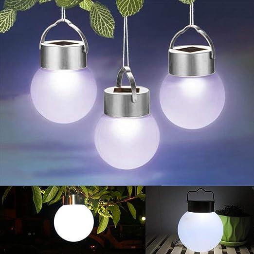 Sweet48 - Lámpara Solar Decorativa para jardín, Impermeable, Luces ...