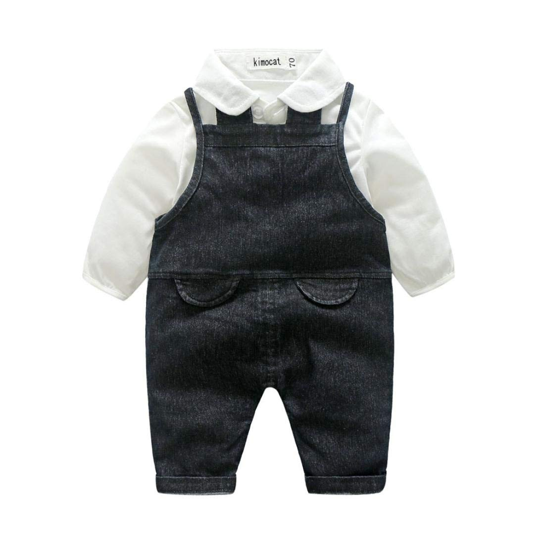 Dream_Mimi Gentleman - Camiseta de Manga Larga para bebé, diseño ...