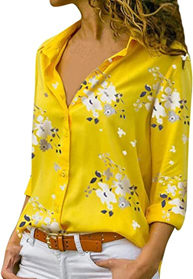Luckycat Camisas Mujer Manga Larga Camisa Manga Larga Mujer Camisas Mujer Blancas Negra Camisas Mujer Fiesta Elegantes Blusa Mujer Manga Larga Elegante Camiseta Mujer Blusas Mujer Elegantes Blusa: Amazon.es: Ropa y accesorios