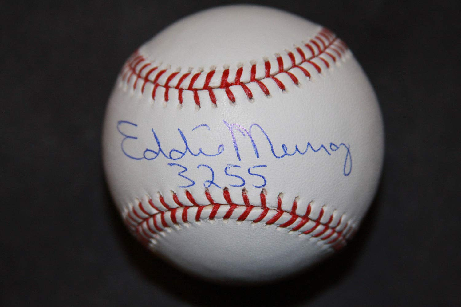 Eddie Murray Autographed Signed Roml Basebal 3255 Inscription PSA/DNA